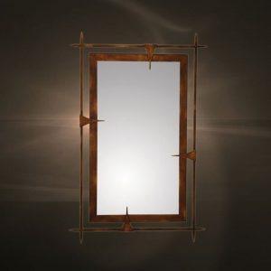 Καθρέπτες μεταλλική κορνίζα  1141