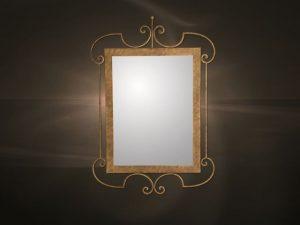 Καθρέπτες μεταλλική κορνίζα  1142