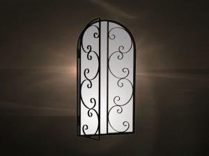 Καθρέπτες μεταλλική κορνίζα  1143