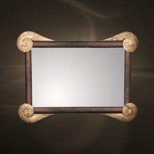 Καθρέπτες μεταλλική κορνίζα  1162