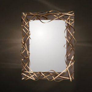 Καθρέπτες μεταλλική κορνίζα  1163