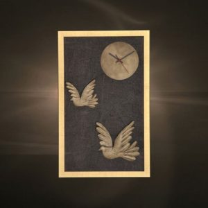 Ρολόγια τοίχου χειροποίητα μεταλλικά 402