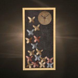 Ρολόγια τοίχου χειροποίητα μεταλλικά 405