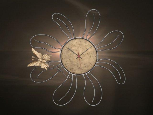 Ρολόγια τοίχου χειροποίητα μεταλλικά 409 - la maison 0f7f0a036a5