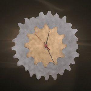 Ρολόγια τοίχου χειροποίητα μεταλλικά 413
