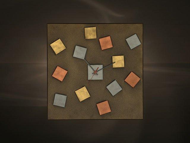 Ρολόγια τοίχου χειροποίητα μεταλλικά 417 - la maison 5444ca8d707