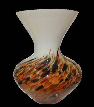 Διακοσμητικα βάζο πιατέλα φυσητό γυαλί gb v159