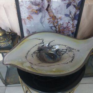 Διακοσμητικα, πιατέλα φυσητό γυαλί gb bc-20p