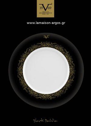 Versace πιάτα Black Dahlia