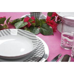 Σερβίτσιο Πιάτων  Fino grey  Cryspo Triο