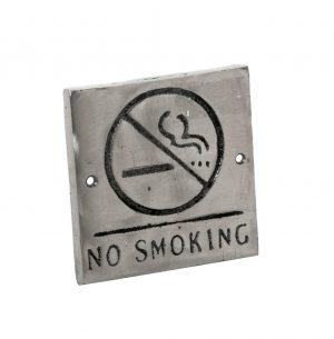 ΤΑΜΠΕΛΑΚΙ «NO SMOKING» 13.5X13.5X0.9EK