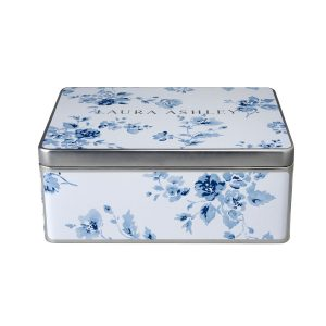 Laura Ashley-Blueprint Cookie Tin
