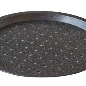 Ταψί πίτσας τρυπητό Stone M34,6Π34,6Υ2cm estia 01-5245