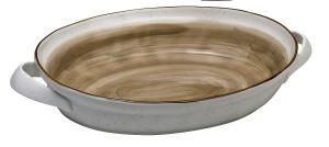 Ταψί Πυρίμαχο Country Οβάλ Brown (New Bone China) (40 X