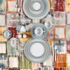 Σερβίτσιο πιάτων 20 τμχ pinelies cryspo trio