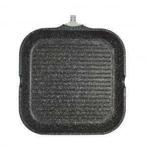 Γκριλιέρα 28cm Cooktech χυτό αλουμίνιο estia 01-2398