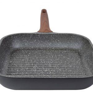 Γκριλιέρα 28cm Stone χυτό αλουμίνιο estia 01-1216