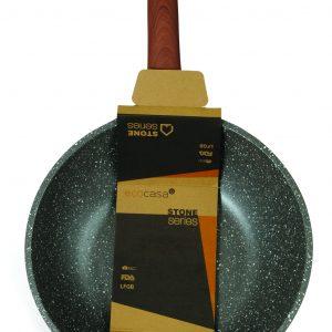 Γουόκ 28cm Stone χυτό αλουμίνιο estia 01-1223