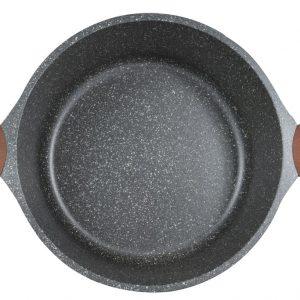 Κατσαρόλα 28cm Stone χυτό αλουμίνιο estia 01-1155