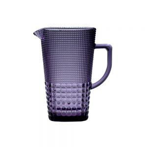 HFA Κανάτα Γυάλινη Pearls Purple 1400ml