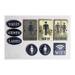 """ΤΑΜΠΕΛΑΚΙ """"MEN-WOMEN"""" 9.7EK ESPIEL KLI124K6"""