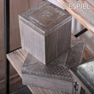 ΞΥΛΙΝΟ ΚΟΥΤΙ 12Χ12Χ14.3ΕΚ. ESPIEL HIF103