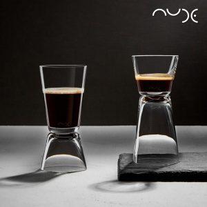 NUDE DUAL COFFEE SET2 D:5.5 H:12.1 ESPIEL NU22298-2
