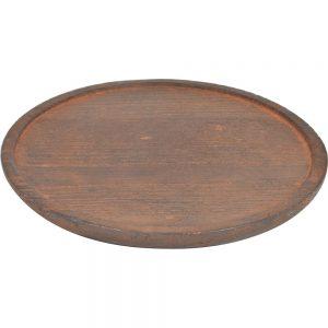 Ξύλινη βάση για μαντέμι 15cm estia 01-8383